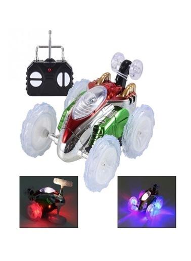 Hyd Dasher Uzaktan Kumandalı Takla Atan Işıklı Çılgın Akrobat Oyuncak Araba Renkli